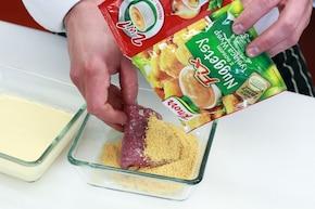 Polędwiczki wieprzowe z serem brie  – krok 5