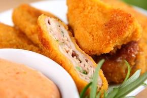 Polędwiczki wieprzowe z serem brie  – krok 7