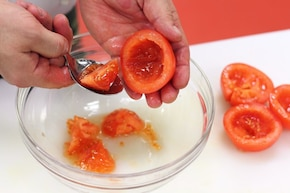 Pomidory po prowansalsku – krok 1