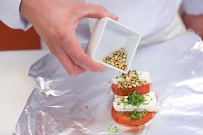 Pomidory z grilla z serem – krok 5
