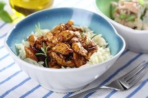 Potrawka z kurczaka à la Gyros