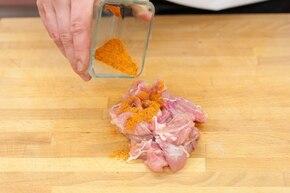 Potrawka z kurczaka po staropolsku  – krok 1