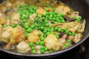 Potrawka z kurczaka z grzybami  – krok 5