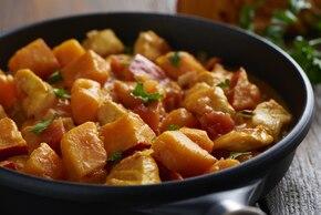 Proste curry zkurczakiem