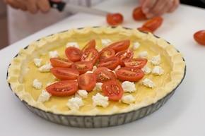 Prowansalska tarta z pomidorami – krok 4