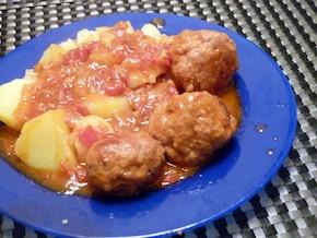 Pulpeciki w sosie paprykowym