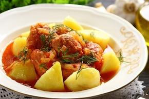 Pulpety z indyka w sosie pomidorowym - VIDEO
