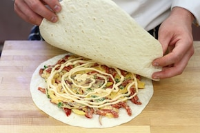 Quesadilla z papryką i chilli   – krok 2
