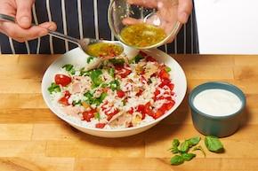 Sałatka ryżowa z tuńczykiem – krok 3