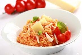 Risotto z pomidorami