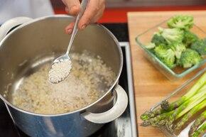 Risotto z warzywami  – krok 1