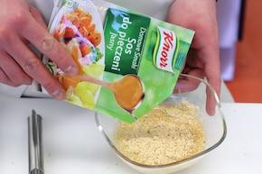 Roladki drobiowe z tymiankiem i serem – krok 3