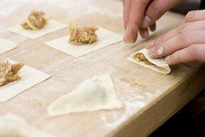 Rosół z chińskimi pierożkami – krok 4