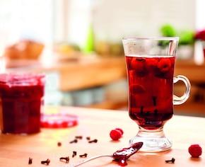 Rozgrzewająca herbata z goździkami