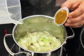 Ryba gotowana w Wermucie – krok 2