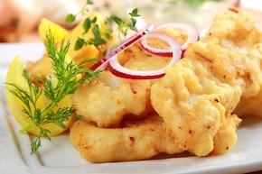 Ryba w chrupkiej otulinie