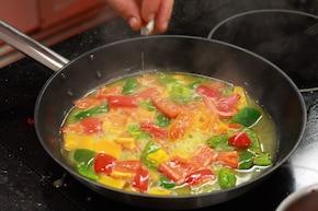 Ryba w sosie paprykowym – krok 2