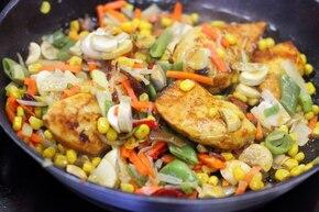 Ryż curry z warzywami – krok 3