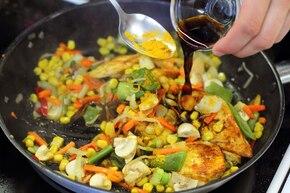 Ryż curry z warzywami – krok 4