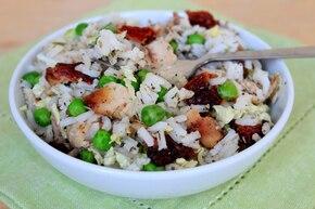 Ryż z kurczakiem i suszonymi pomidorami