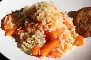 Ryż z marchewką mini