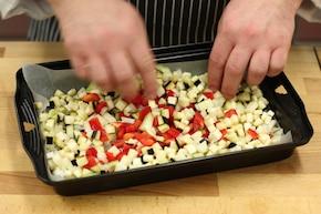 Ryż z warzywami i mięsem – krok 2