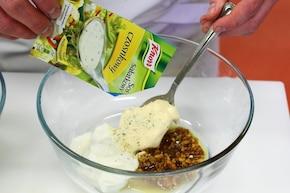 Sałatka curry z kurczakiem – krok 3