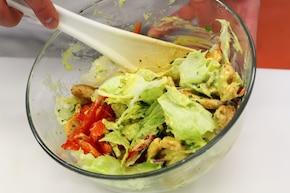 Sałatka curry z kurczakiem – krok 4