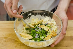 Sałatka gyros z makaronem – krok 6