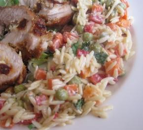 Sałatka makaronowo-warzywna