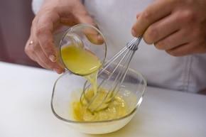 Sałatka z kaczką i kozim serem – krok 3