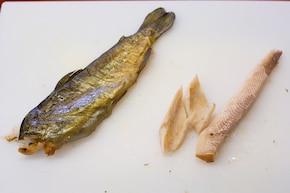 Sałatka z makreli – krok 1