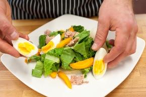 Sałatka z pieczonymi warzywami – krok 4