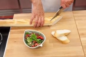 Sałatka z rukolą i truskawkami – krok 3