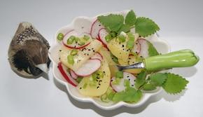 Sałatka ziemniaczana z rzodkiewką