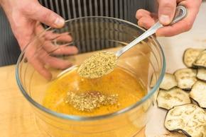 Sałatka z marynowanym bakłażanem – krok 5