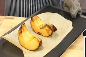 Sałatka z serem kozim – krok 1