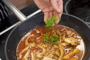 Schab w sosie słodko ostrym   – krok 5