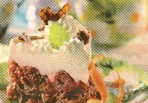 Sernik CornFlakes z wiśniami