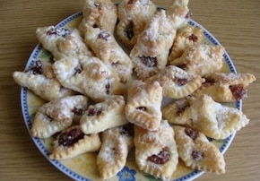 Serowe ciasteczka