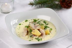 Śledziowa zupa wigilijna