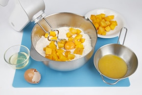 Słodkie bułeczki z dynią – krok 3