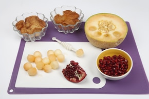 Słodkie miseczki z owocami – krok 6