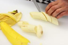 Smażone banany – krok 1