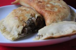 Smażone pierożki a la Quesadillas