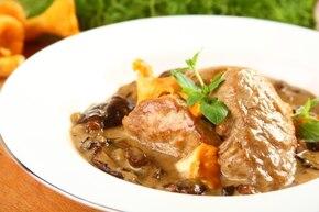 Smażone polędwiczki z sosem grzybowym - VIDEO