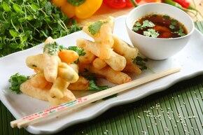 Smażone warzywa w tempurze