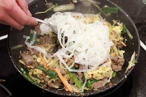 Pad Thai – krok 4