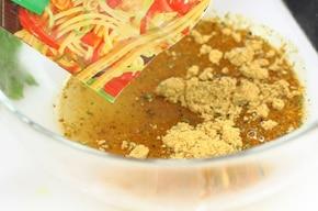 Smażony makaron w sezamie  – krok 6