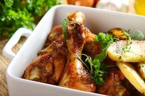 Soczysty kurczak po cygańsku